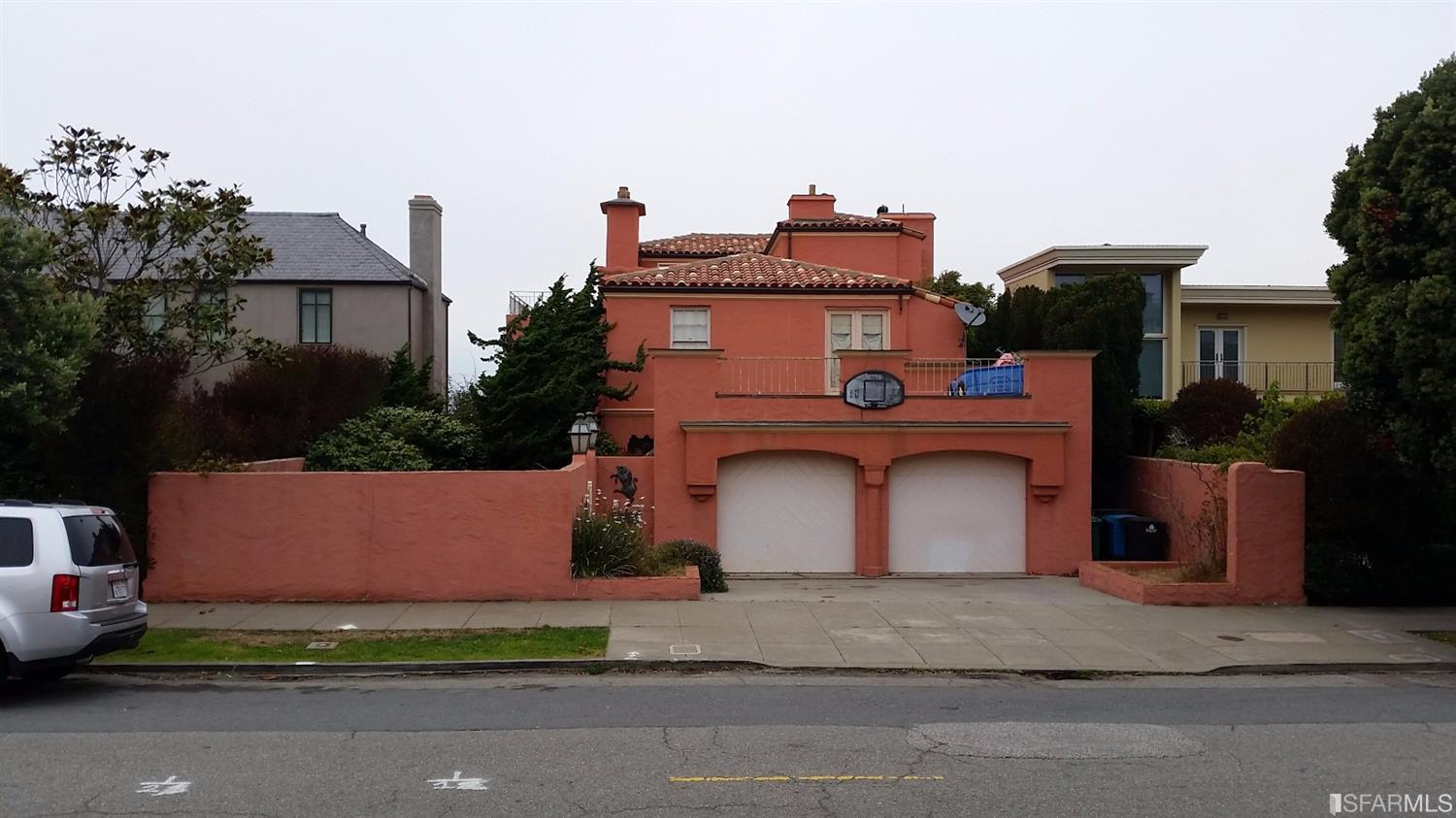 Single Family Home for Sale at 224 Sea Cliff Avenue San Francisco, California,94121 United States